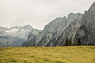 Austria, Gosau, View to Dachstein Mountains - KVF000033