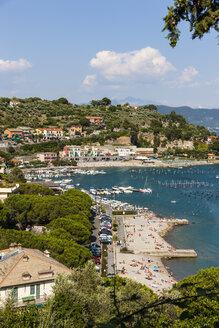 Italy, Liguria, La Spezia, View to Portovenere - AMF001962