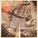 Spades, soil, gardening - LVF000876