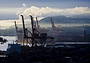 Canada, Vancouver, Container harbour - AMF002022