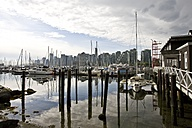 Canada, Vancouver, Skyline of Coral Harbour - AMF002021