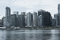 Canada, Vancouver, Skyline of Coral Harbour - AMF002011