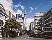 New Zealand, Auckland, view to television tower - WV000474