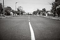 New Zealand, Ngatea, empty lane - WV000506
