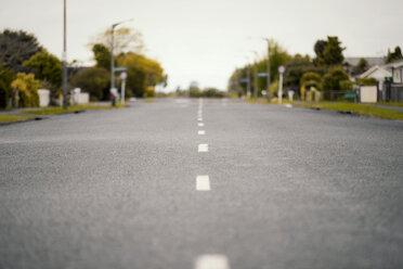 New Zealand, Ngatea, empty lane - WV000497