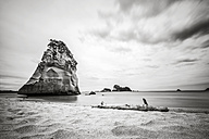 New Zealand, North Island, View of cathedral cove on coromandel peninsula - WV000483