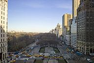 USA, New York, Manhattan, view to Central Park in winter - JWAF000032