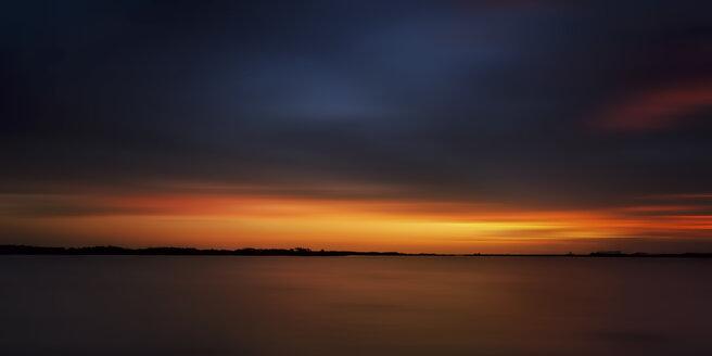 USA, Florida, Titusville, Sunset, Swamp - SMAF000201