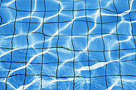 Water surface with reflections of pool - GWF002667