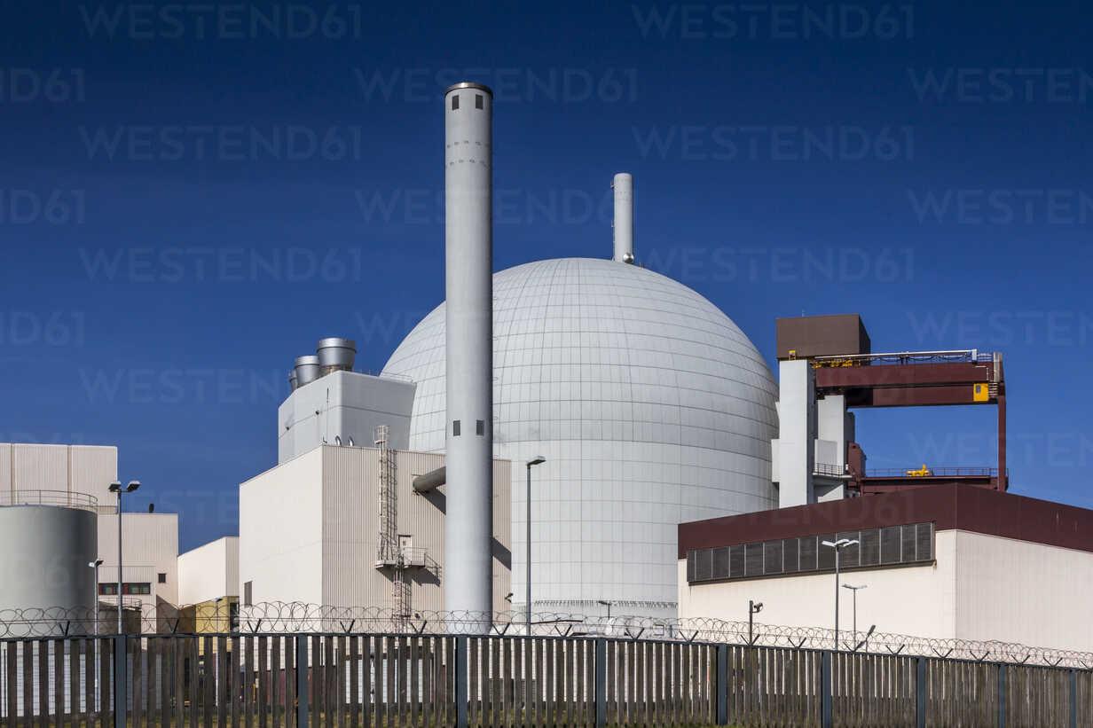 Germany, Schleswig-Holstein, Brokdorf, Nuclear power plant - NKF000077 - Stefan Kunert/Westend61