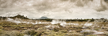 New Zealand, Taupo Volcanic Zone, Craters of the Moon, geothermal field - WV000522