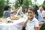 Boy on a garden party - ABF000554
