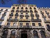 Spain, Catalonia, Barcelona, Sant Pere, old manor house at Passeig de Colom - AMF002059
