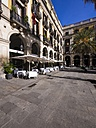 Spain, Catalonia, Barcelona, Placa Reial, Restaurant - AM002085