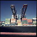 Container port Waltershof, Burchardkai, Port of Hamburg, Germany - SE000637
