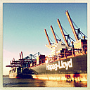 Container port Waltershof, Burchardkai, Port of Hamburg, Germany - SE000641