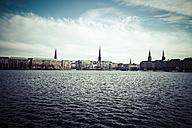 Germany, Hamburg, Inner Alster Lake - KRPF000410