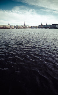 Germany, Hamburg, Inner Alster Lake - KRPF000411