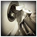Refueling, refuel diesel, Hesse, Germany - MS003669