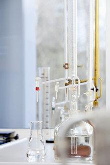 Burettes in chemical laboratory - NAF000001