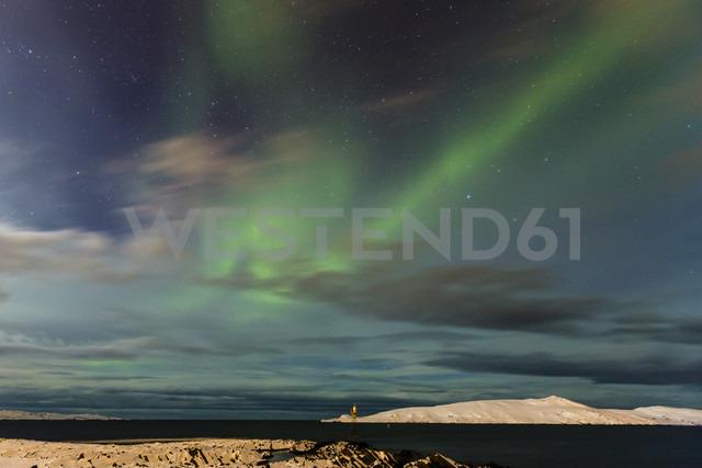 Aurora borealis in Norway near Varangerfjord - SR000488