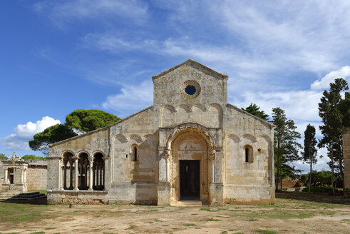 Italy, Puglia, Lecce, Former convent of the Basilian monks Santa Maria di Cerrate - LB000669