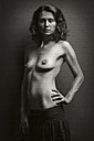 Confident semi-nude woman - CvK000061