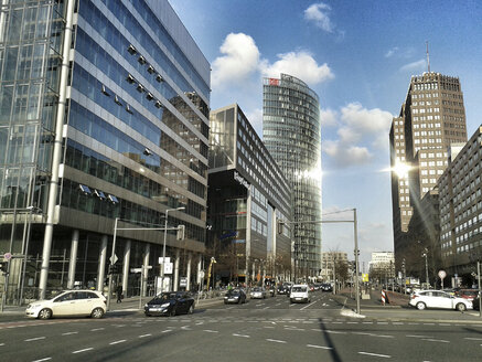 Potsdamer Platz, Bahn Tower, Germany, Berlin - BFR000370