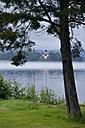 Sweden, Leksand, Lake Siljan and church - BR000275