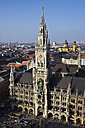 Germany, Bavaria, Munich, Marienplatz with New Town Hall - YFF000094