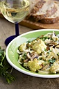 Pasta Alfredo with roasted Cauliflower and Mushrooms - HAWF000101