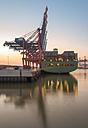 Germany,Hamburg, Port of Hamburg, Container Terminal - RJ000090