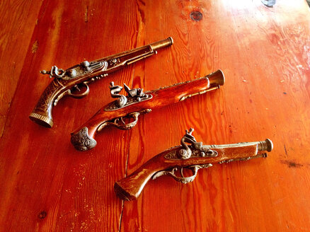 Chile, South America, near Valparaiso, guns collection - AVS000121