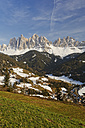 Italy, Alto Adige, Villnoess Valley, Geisler group - GFF000443