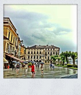 Main square of Orta San Giulio, Lake Orta, Italy - ED000077
