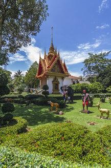 Thailand, Phang Nga Province, near Khao Lak, Wat Khomniyaket - THA000281