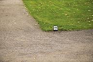 Denmarkm Copenhagen, Palace garden, Direction sign, Toilet sign - VI000256