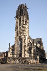 Germany, North Rhine-Westphalia, Duisburg, view to Salvator Church - WIF000570