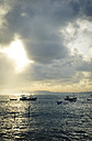 Asia, Sri Lanka, Southern Province, Galle, Fishing boats in the morning - STC000016