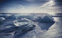 Iceland, Ice at the beach of Jokurlsarlon - STCF000033