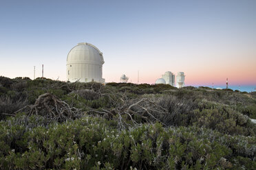 Spain, Canary Islands, Teneriffe, Teide observatory - STC000047