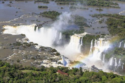 South America, Brazil, Parana, Iguazu National Park, Iguazu Falls - FOF006592