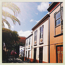 Facade, facades, San Andres, La Palma, Canary Islands, Spain - SEF000682