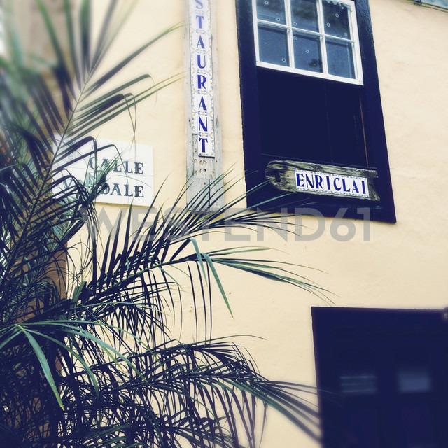 House facade in Cruz de La Palma, Canary Islands, Spain - SEF000661