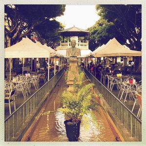 Plaza de la Alameda, old town of Santa Cruz de La Palme, Canary Islands, Spain - SE000652