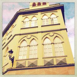 House facade in Cruz de La Palma, Canary Islands, Spain - SEF000649