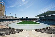 Spain, Catalunya, Barcelona, Old olympic stadium - EBS000160