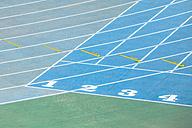 Spain, Catalunya, Barcelona, Old olympic stadium, Racetrack - EBSF000162