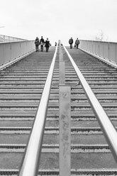 Netherlands, Maastricht, Steps to Hoge Bruge - HL000462