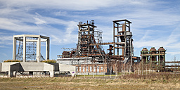 Germany, North Rhine-Westphalia, Dortmund-Hoerde, Phoenix West, abandoned blast furnace steelmill - WIF000586